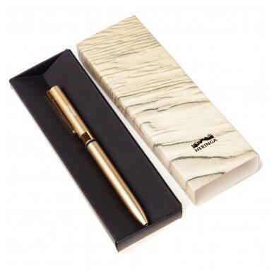 """Aukso spalvos rašiklis dėželėje """"Smėlis"""""""