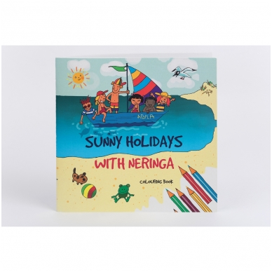 "Colouring book ""Sunny holidays with Neringa"""