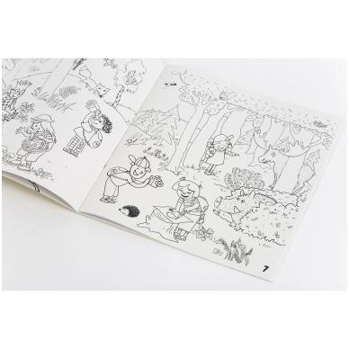 "Colouring book ""Sunny holidays with Neringa"" 2"