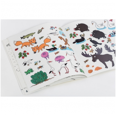 "Colouring book ""Sunny holidays with Neringa"" 3"